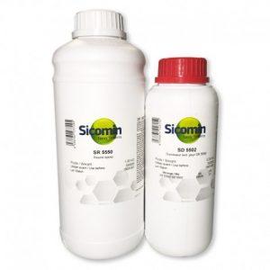 Resina epoxi 5550 5502 para madera laminacion manual endurecedor muy rapido SD5502