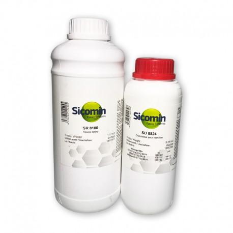 Resina epoxy sicomin para infusion, inyeccion, rtm de baja viscosidad y altas propeidades mecanicas