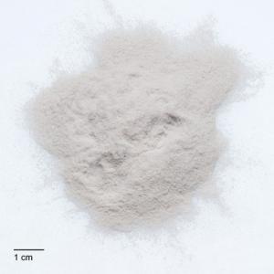 carga para resina de polvo blanco para revestir una pieza y lijar