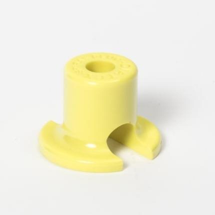 base infusión, toma para tubo de media pulgada, 1/2 pulgada, descartable, composite