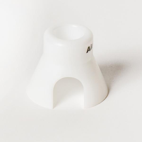 conector de nylon 3/4 pulgada para tubo y espiral en una infusion